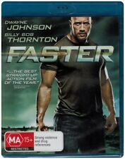 "Clearance ""FASTER"" Blu-ray - Region Free [A,B,C] NEW"
