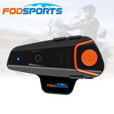 1000m BT-S2 Motorcycle BT Bluetooth Helmet Headset Interphone Intercom+ FM Radio