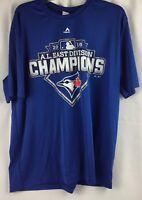 2015 AL East Division Champions Toronto Bluejays T Shirt Mens Sz XL Very Nice!