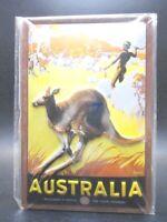 Australien Känguruh Blechschild Nostalgie Schild 30 cm