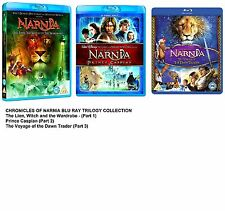 CHRONICLES OF NARNIA TRILOGY 1 - 3 Blu Ray Set New Sealed Collection box