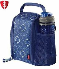 Lunch Bag Kids School Picnic Travel Shoulder Strap Insulated Pocket Bottle Food