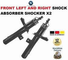 FOR PEUGEOT 206 HATCHBACK 2009-ON FRONT LEFT + RIGHT SHOCK ABSORBER SHOCKER X2