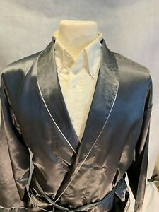 Mens Silk Satin Robe   - Designer High Quality
