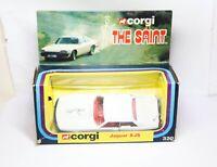 Corgi 320 The Saint Jaguar XJS In Its Original Box - Near Mint Factory Error