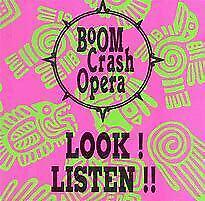 BOOM CRASH OPERA LOOK LISTEN    Cd M89