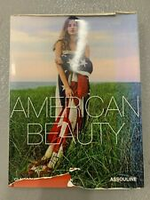 American Beauty Hardcover with tears in jacket, Assoline, photo book