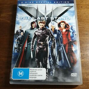 X-Men THE LAST STAND DVD R4 Like New! FREE POST