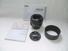 Objectif NIKON 50 mm 1,4 AFS G en excellent état