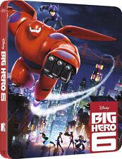 Big Hero 6 3D Limited Edition Steelbook Blu-ray 3D/2D Region B NEW SEALED
