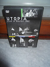 "UTOPIA ""Live In Boston 1982"" DVD SANCTUARY EUROPE 2004"
