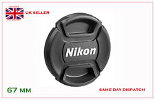 LC67, LC-67mm Lens Cap Centre Pinch for Nikon 18-105 18-135 18-140 18-70mm Lens,