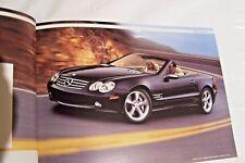 2006 mercedes sl55 amg sl600 sl500 owners sales brochure w129 new original