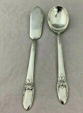 1847 Rogers International Silver - First Love  Sugar Spoon & Master Butter Knife