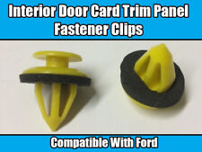 20x FORD KA FOCUS FIESTA GALAXY INTERIOR DOOR TRIM PANEL CARD CLIPS FASTENER