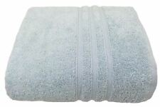 HOTEL QUALITY DUCK EGG BLUE ZERO TWIST COTTON 600 GSM BATH SHEET TOWEL 90X140CM