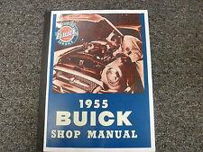 1955 Buick Century Super Special Roadmaster Estate Wagon Service Repair Manual