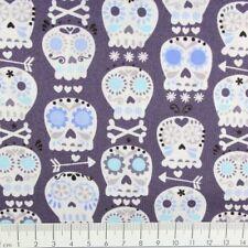 Baumwollstoff Totenkopf Michael Miller fabrics Stoffe USA Designerstoffe nähen