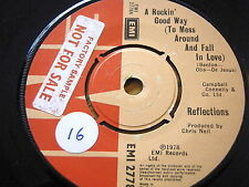 """REFLECTIONS - A ROCKIN' GOOD WAY TO MESS AROUND AND FALL IN LOVE   7"""" VINYL"""