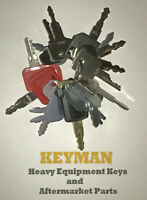 Keyman 16 Heavy Equipment / Construction Ignition Keys Set Great Starter Set