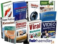 17 eBOOKs mit PLR und MRR WEBPROJEKT eBook Paket Websites Webseiten Marketing 1A