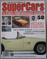 SUPERCARS magazine Issue 58 Featuring Pegaso Z102 & Z103 cutaway, Harley Earl