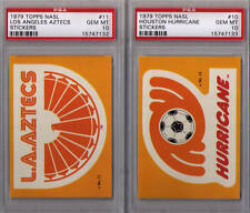 1979 Topps NASL Soccer stickers cards lot of 10 PSA 10