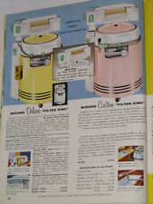 VINTAGE 1959 WESTERN AUTO MAJOR APPLIANCE CATALOG! REFRIGERATORS/DINETTES/RANGES