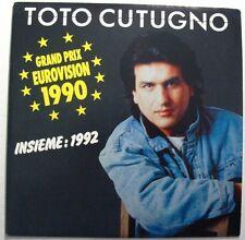 TOTO CUTUGNO (SP 45t) INSIEME 1992 - EUROVISION 1990