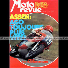 MOTO REVUE N°2180 HARLEY-DAVIDSON Z90 GARELLI REKORD BMW HONDA CB 350 ASSEN 1974