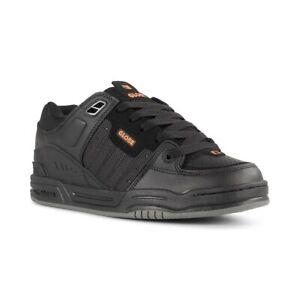 Globe Fusion Shoes - Black / Black / Orange