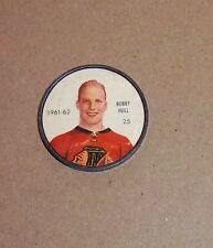 Shirriff / Salada coins hockey 1961-62 # 25 Bobby Hull Chicago set # 7 A- 2