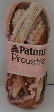 Patons Pirouette Scarf Yarn ~ Sienna Sparkle ~ 85 grams ~
