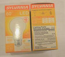 Sylvania led 60 Watt A19 LED Light Bulb 800 lumens(2 Pack)