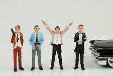 Gangster Mafia Robber 4 Figures Set Figure 1 24 Figurines American Diorama