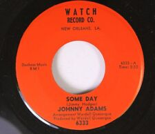 Northern Soul 45 Johnny Adams - Some Day / Part Of Me On Watch Record Co.