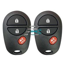2 NEW Replacement For 2005-2016 TACOMA Keyless Entry Remote Control GQ43VT20T