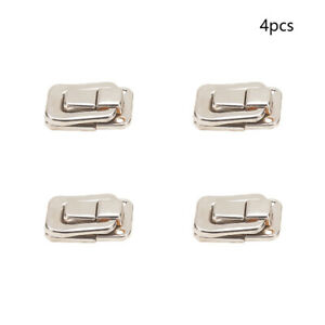 40mm Iron Silver Box Case Toggle Catch Lock Suitcase Chest Trunk Latch Clasp