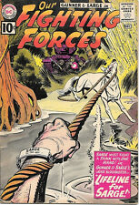 Our Fighting Forces Comic Book #64 Gunner and Sarge, DC Comics 1961 VERY GOOD-