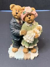 Boyds Bears James And Kathleen With Baby Blessings. The Christening 228434