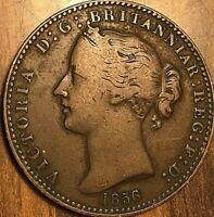 1856 NOVA SCOTIA ONE PENNY TOKEN