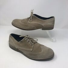 G STAR RAW Mens Beige Suede Lace Up Oxford Shoes UK 10