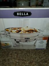 Bella 5-Qt. Stainless Steel Electric Chafing Dish, Never Used