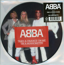 "ABBA - Take A Chance On Me - 7"" vinyl picture disc 2017 Ltd new rare"