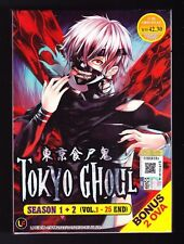 *NEW* TOKYO GHOUL SEASON 1+2 *25 EPISODES/2 OVA*ENGLISH SUBS*ANIME DVD*US SELLER