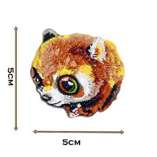 Cute Baby Raccoon High Detail Iron On Patch Badge Patches Motif Embroirdered 454