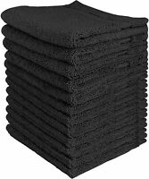 600 GSM 12 Pack Premium Cotton Washcloth  Set 12 x 12 Inches  Utopia Towels