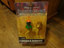 2002 DISNEY'S KINGDOM HEARTS--SIMBA & REQUIEM FIGURES (LOOK)