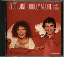 CLEO LAINE & DUDLEY MOORE CD SMILIN' THROUGH MINT-!! RARE OUT OF PRINT