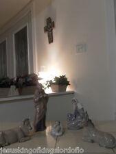 Nao By Lladro Nativity Jesus Mary Joseph Cow & Donkey w/ Boxes Fast Shipping!